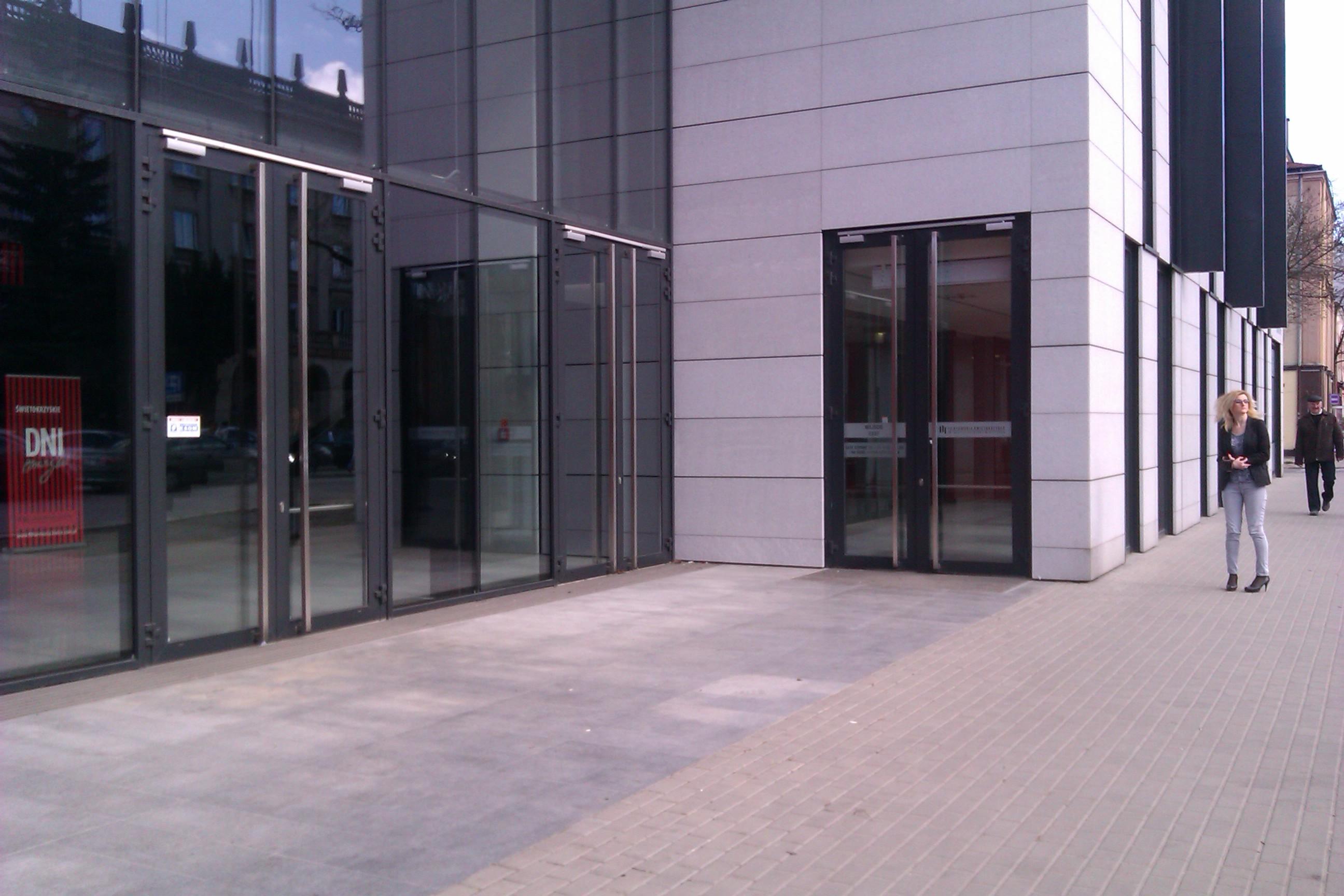 wejście filharmonia świętokrzyska
