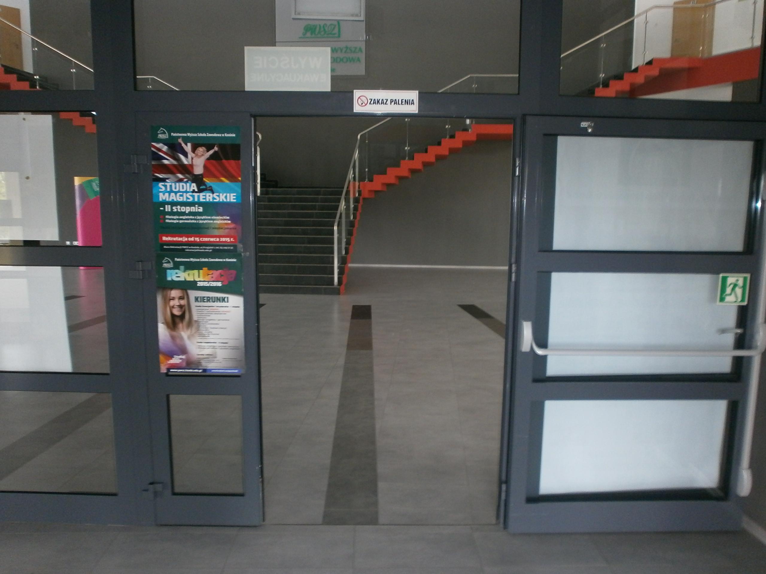 Wewnętrzne drzwi wejściowe