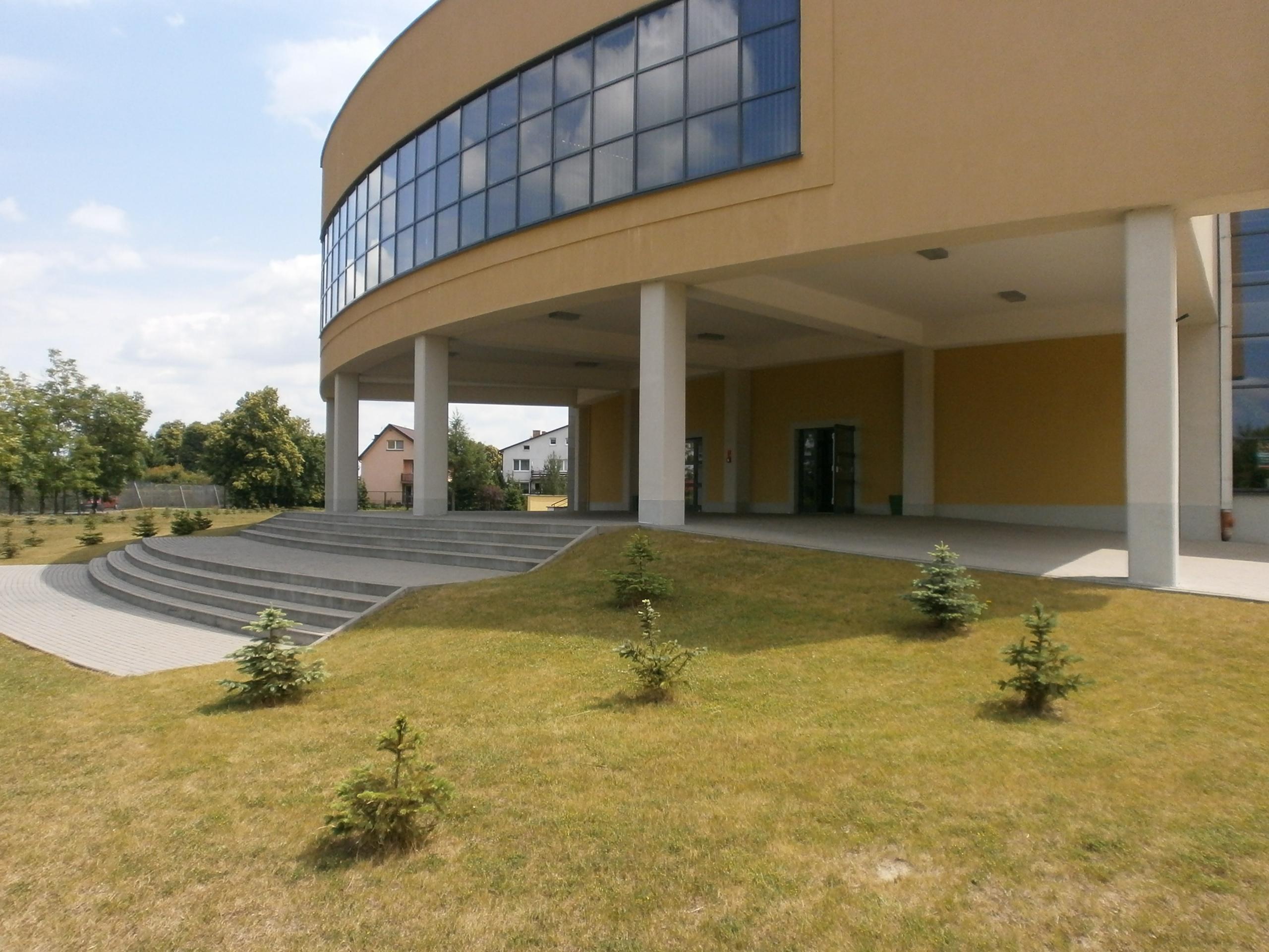 Główne wejście do budynku