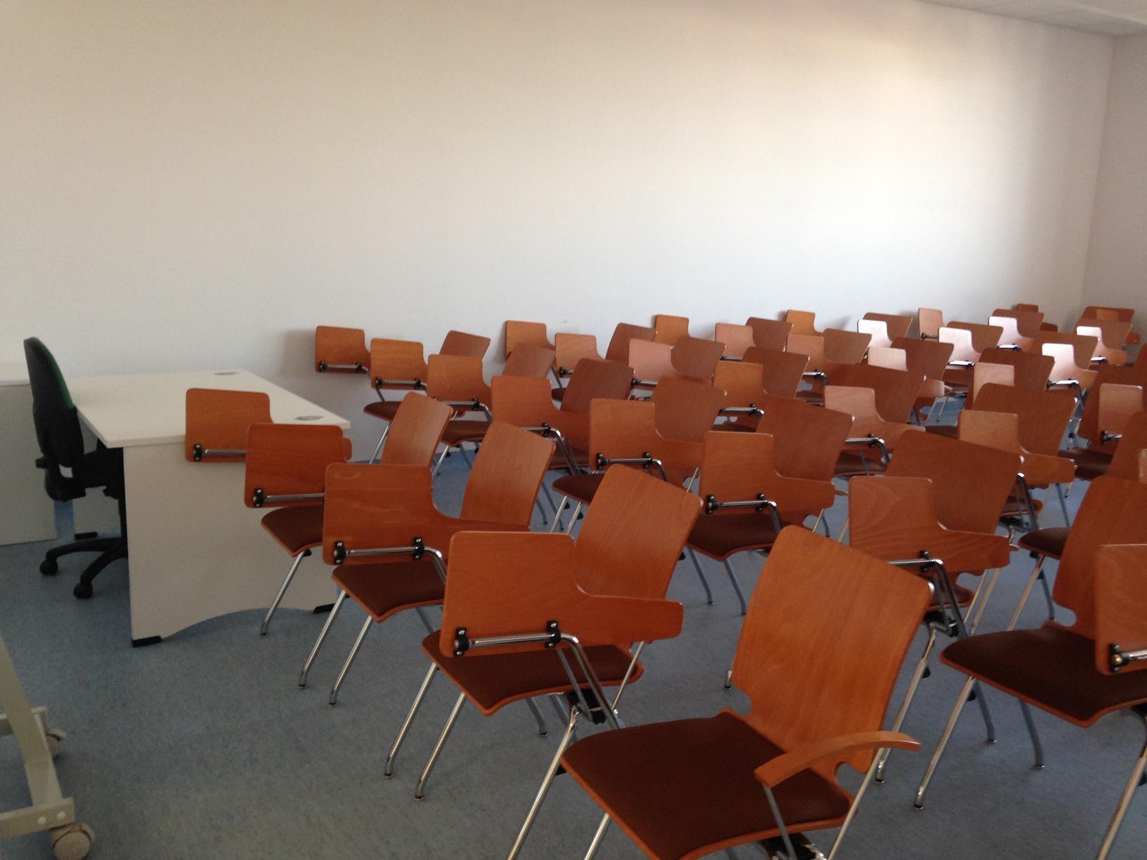 Wnętrze sali wykładowej A.