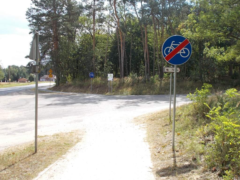 Koniec drogi na skrzyżowaniu