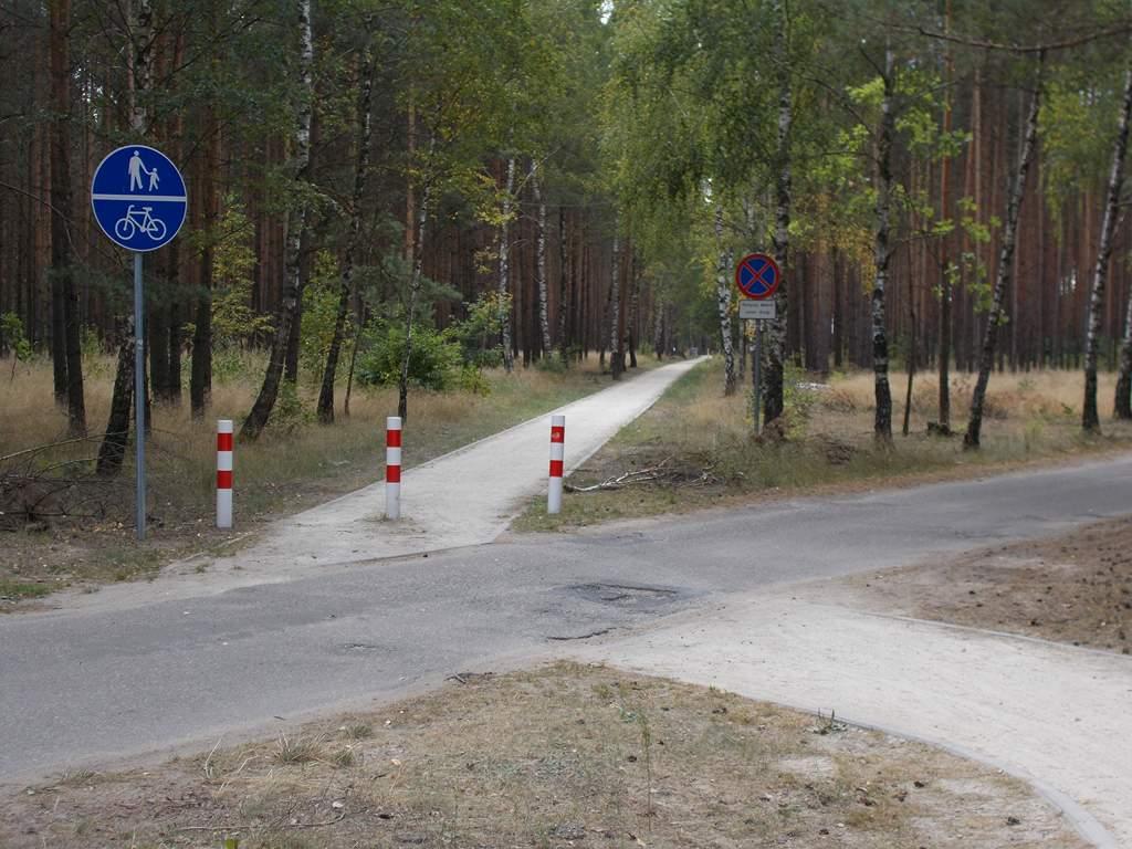Zmiana drogi rowerowej na ciąg pieszo-rowerowy